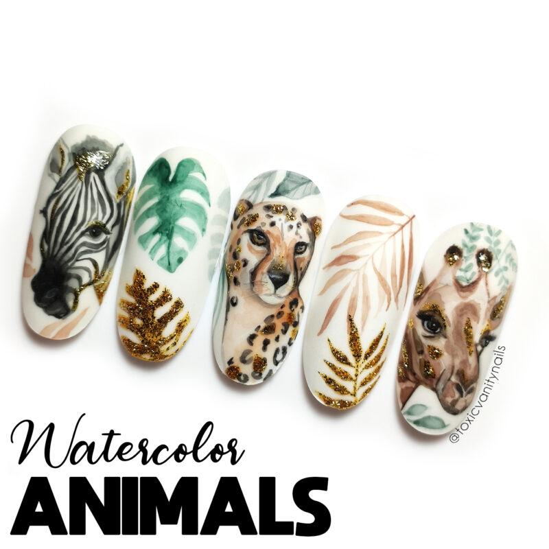 Curso Watercolor Animals
